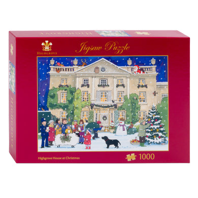 Highgrove House jigsaw puzzle by Alison Gardiner