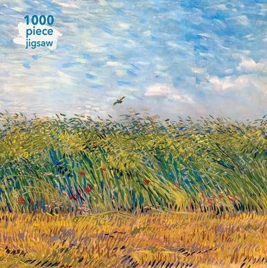 NEW to the range. Vincent Van Gogh. Wheat field with the lark jigsaw puzzle.