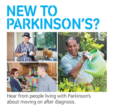 New to Parkinson's? DVD - Parkinson's shop