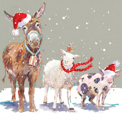 Snowy friends charity Christmas cards - Parkinson's shop