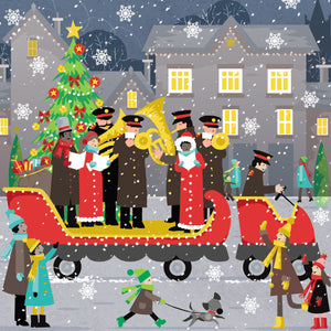 Outdoor concert charity Christmas cards - Parkinson's shop