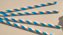 Parkinson's UK striped paper straws - pk 25 - Parkinson's shop