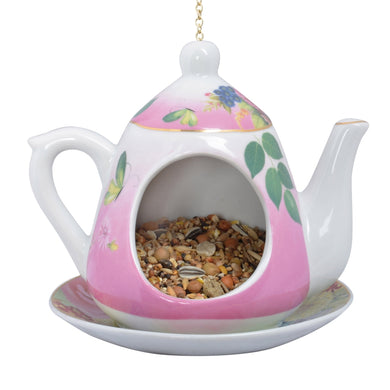 Hanging teapot feeder - Parkinson's shop