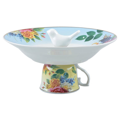 Tea cup bird bath - Parkinson's shop
