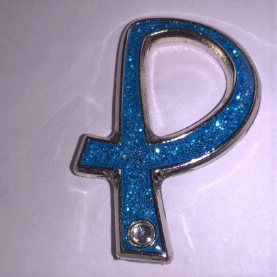Parkinson's UK glitter pin badge with crystal - Parkinson's shop