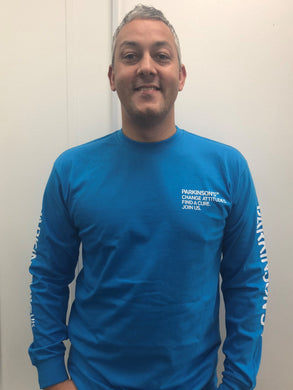 Parkinson's UK long sleeved T-shirt - Parkinson's shop