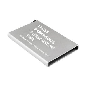 Parkinson's UK smartcard wallet - Parkinson's shop