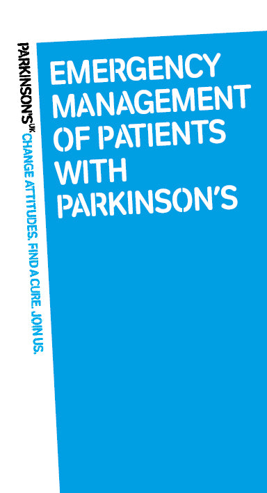 Emergency management of patients with Parkinson's - Parkinson's shop