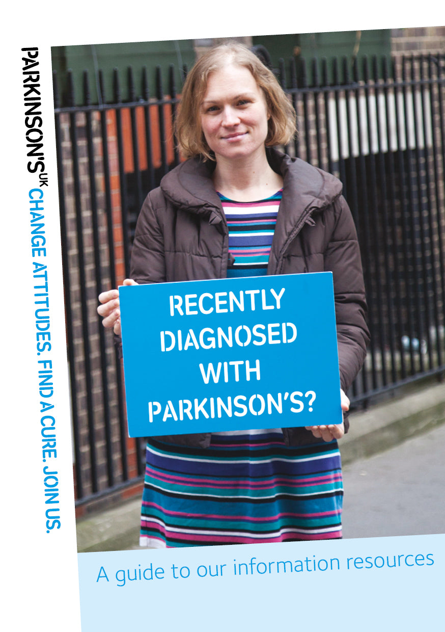 Recently diagnosed with Parkinson's? A guide to our information resources - Parkinson's shop