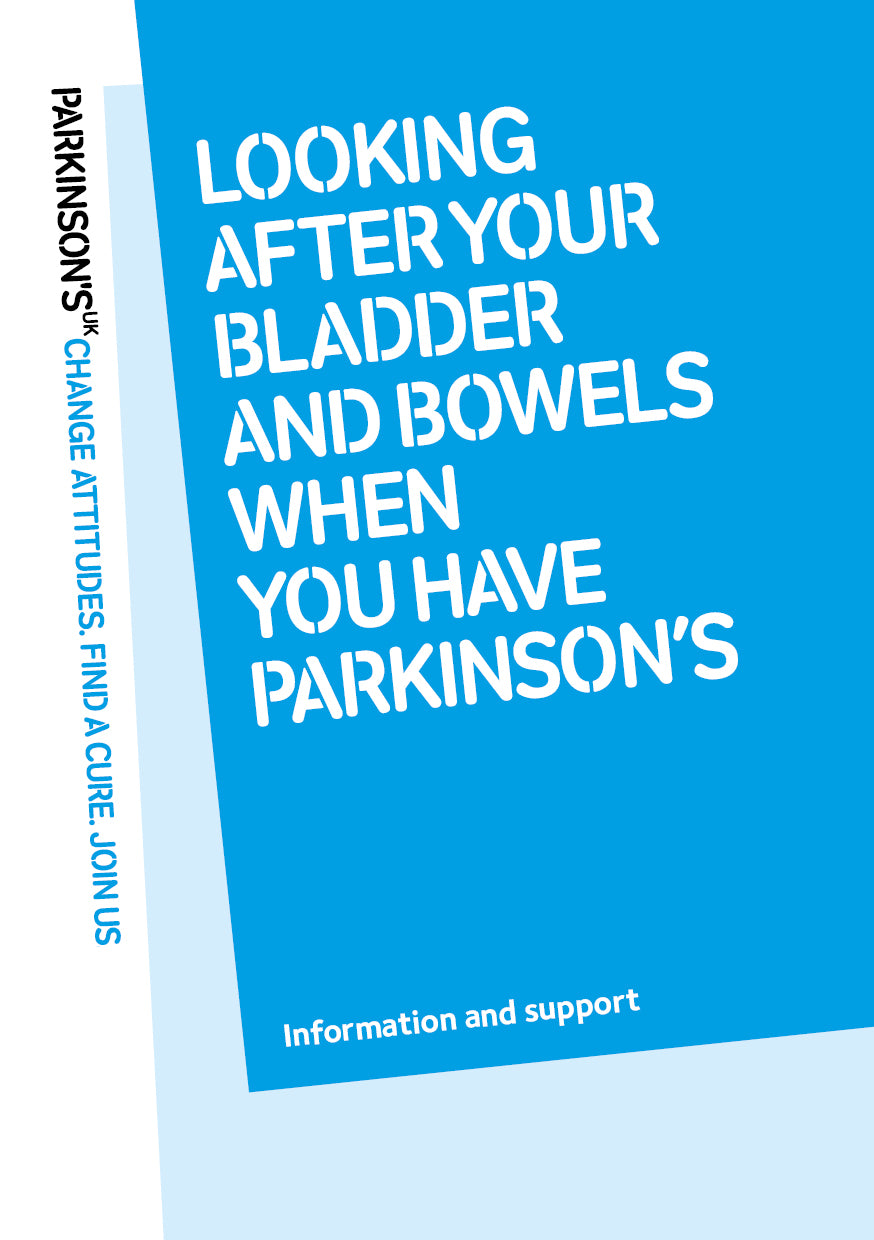 Looking after your bladder and bowels when you have Parkinson's - Parkinson's shop