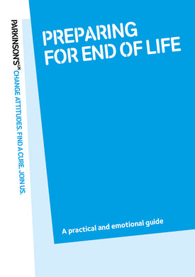 Preparing for end of life - Parkinson's shop