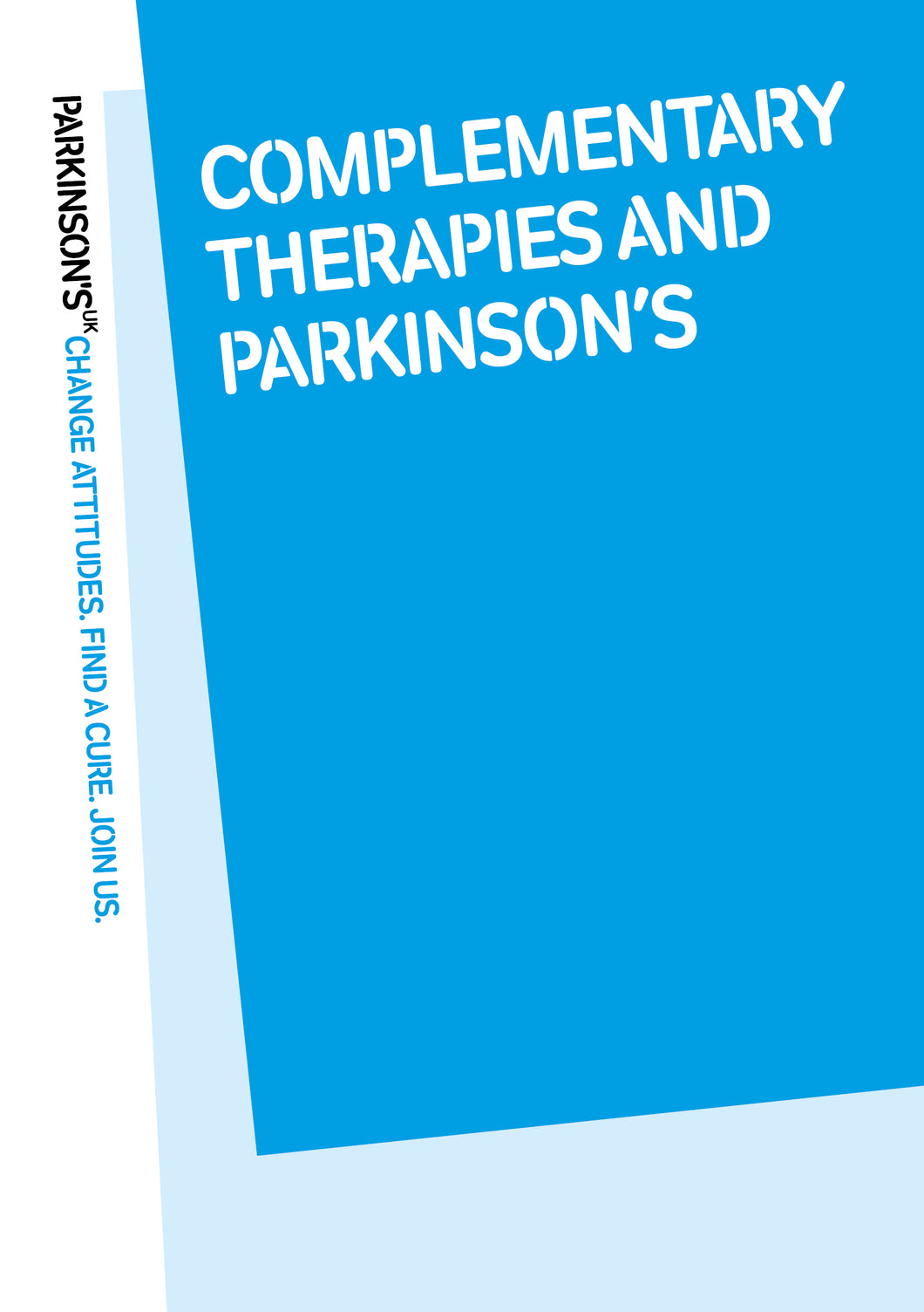 Complementary therapies and Parkinson's - Parkinson's shop