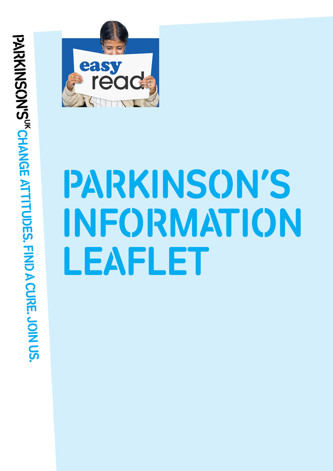 Easy read information about Parkinson's - Parkinson's shop