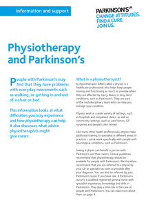 Physiotherapy and Parkinson's - Parkinson's shop