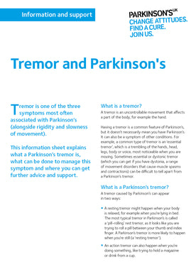 Tremor and Parkinson's - Parkinson's shop