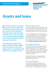 Grants and loans - Parkinson's shop