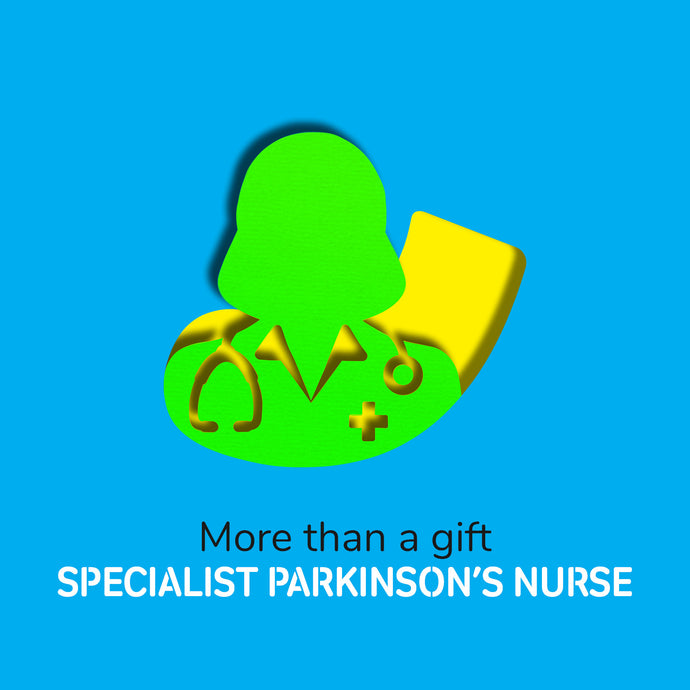 Virtual gift: fund an hour of care from a specialist Parkinson's nurse