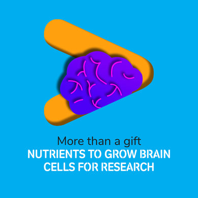 Virtual gift: fund 2 weeks of nutrients to grow brain cells in the research lab