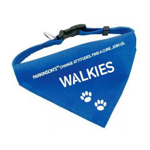 Parkinson's UK walkies dog bandana - Parkinson's shop