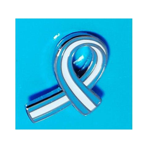 Parkinson's UK striped pin badge - Parkinson's shop
