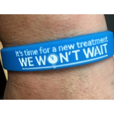 Parkinson's UK We Won't Wait wristband - Parkinson's shop