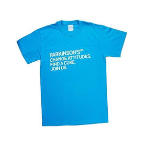 Parkinson's UK adult t-shirt-Parkinson's shop