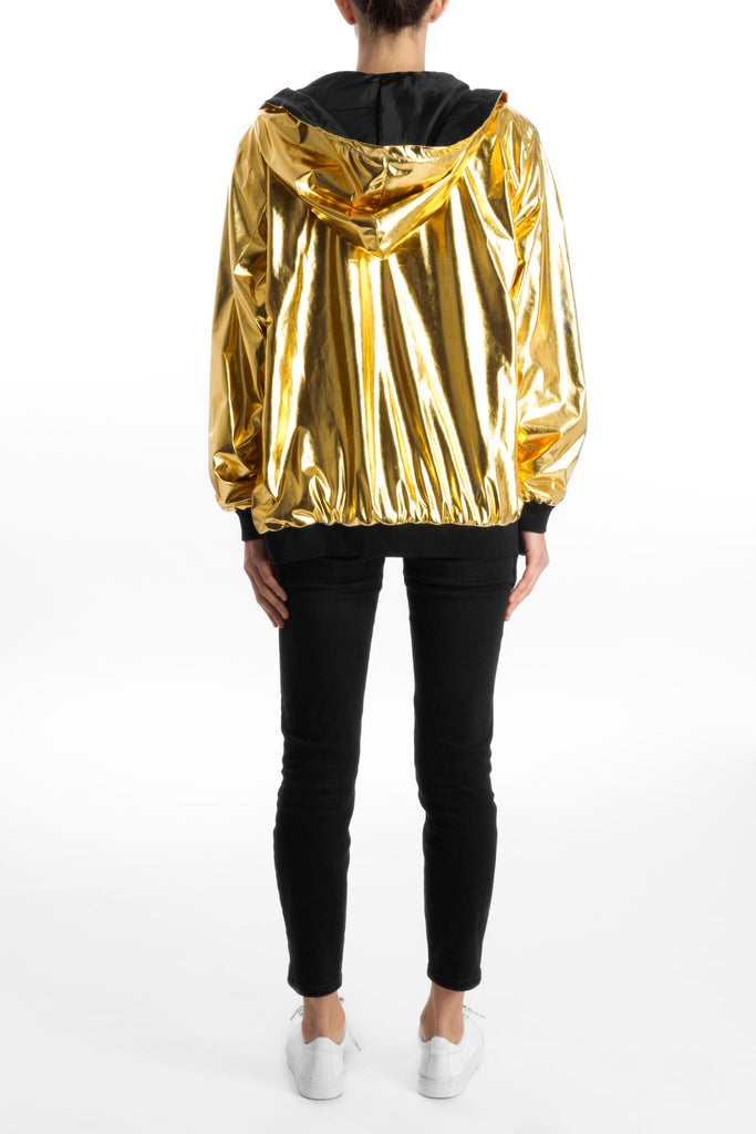 BOMBER JACKET GOLD
