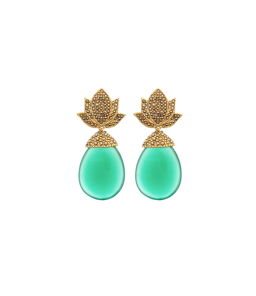 Aretes Agave Gold