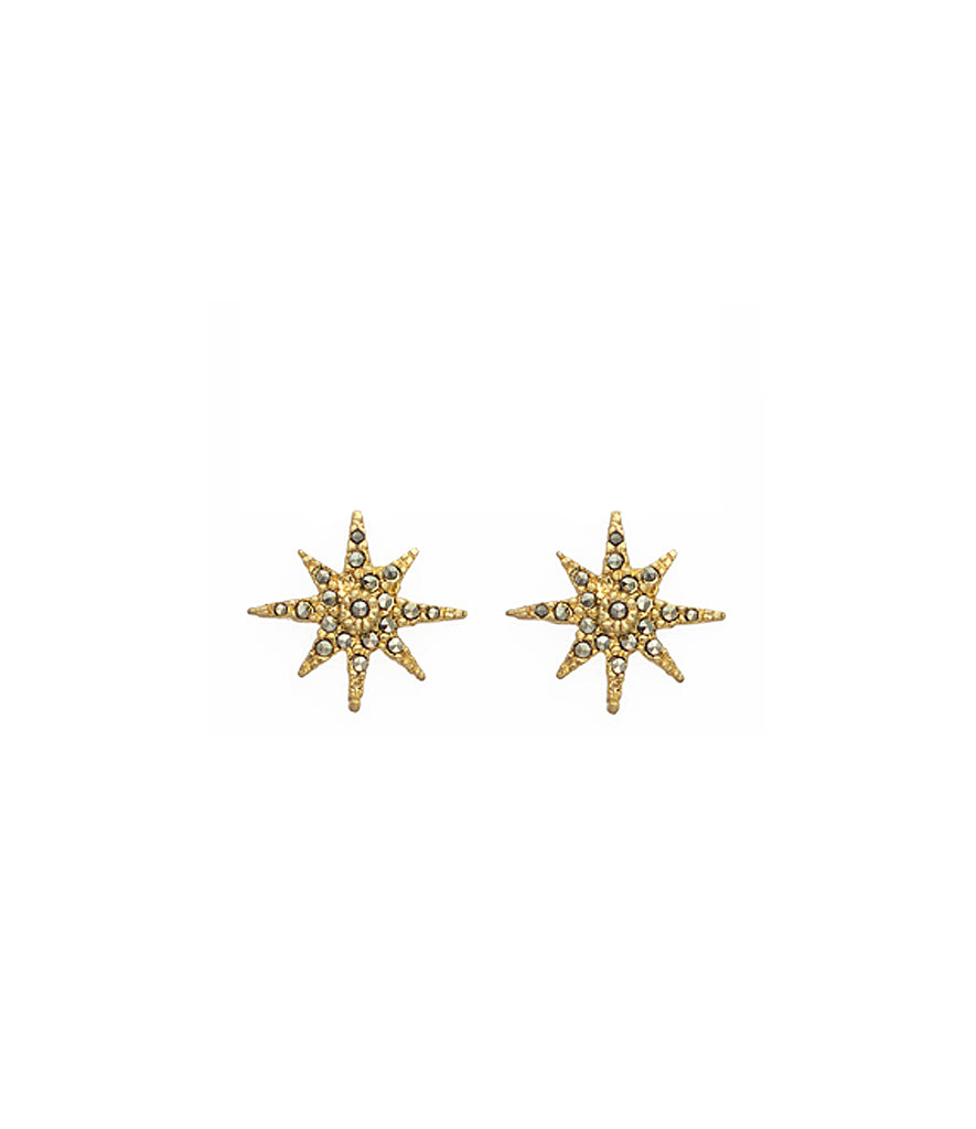 Aretes Polaris Gold Silver