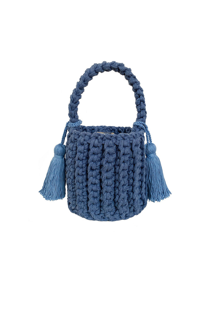 Amalfi Bucket Bag Mini azul