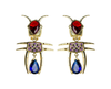 Aretes Leila Insecto