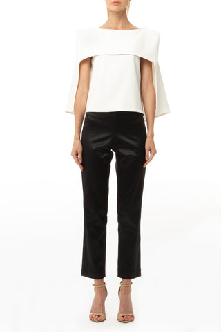 TOP ASYMMETRIC NECK
