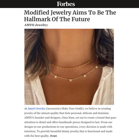 Forbes: Jewelry Will be Hallmarks of the Future Star Layered Choker Necklace