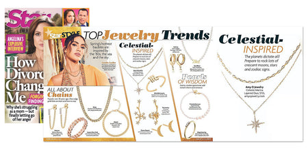 Star Magazine:Celestial Inspired Jewelry Trend Celeste Marina Layered Duo