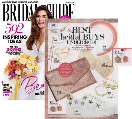 Bridal Guide Best Buys Under $100 Rose Gold Earrings