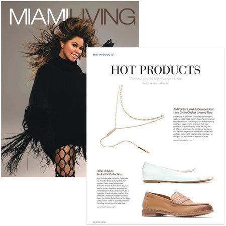 Miami Living Magazine Hot Products Layered Necklace