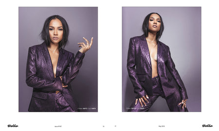 Karreuche Wears Star Necklace For Bello Magazine
