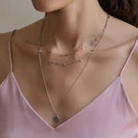 Clover Crystal Necklace