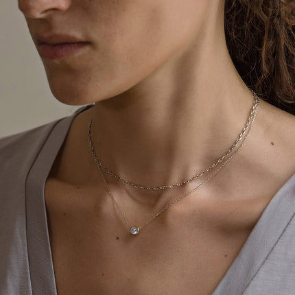 Solitaire Necklace