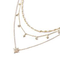 Stella Dangle Crystal Layered Trio