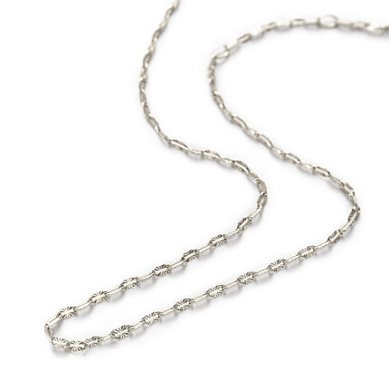 Diamond Cut Lace Chain Choker