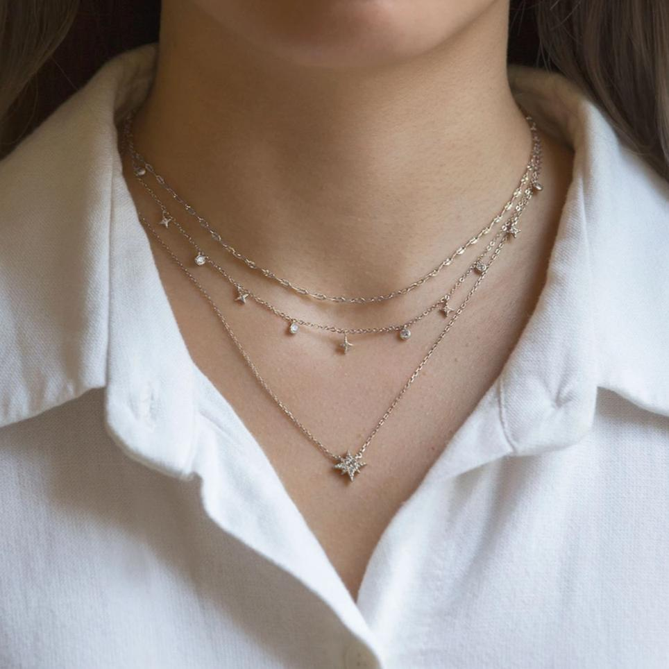 Caption: Shown with Star Dangle Choker