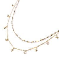 Mika Star Dangle Layered Duo