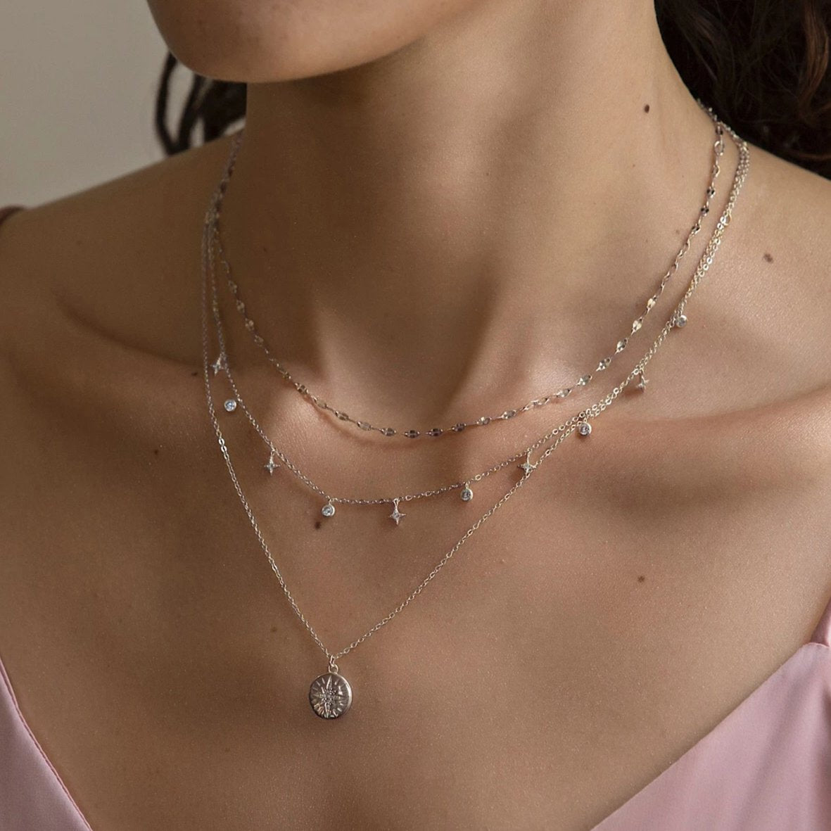caption:Shown with Mika Chain Choker