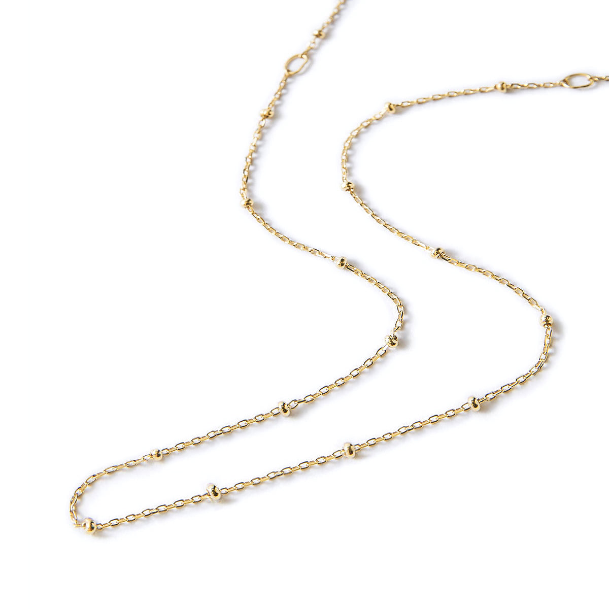 Gold Bead Chain Choker