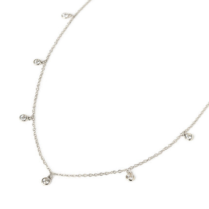 Tiny Dangle Crystal Necklace