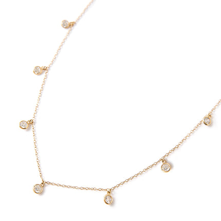 Dangle Crystal Choker