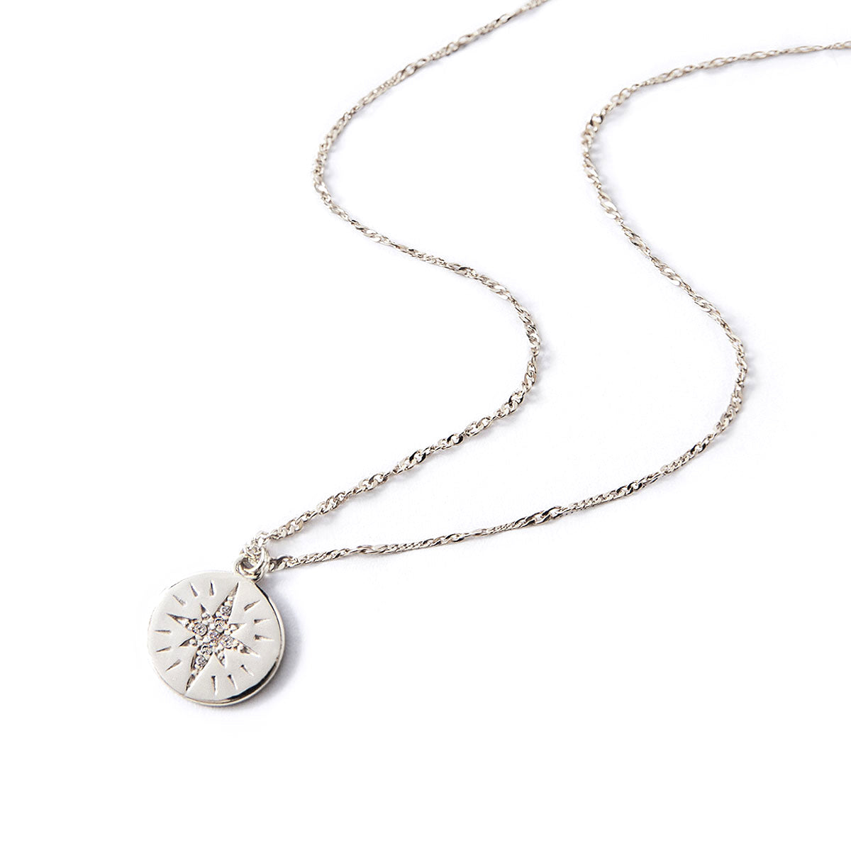 Star Disc Necklace