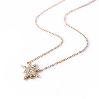 Dainty Gold Star Pendant Necklace
