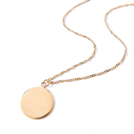 Jolie Disc Necklace